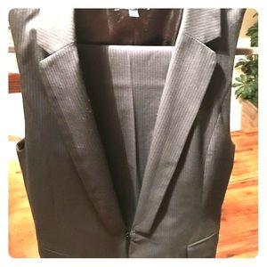 Women's GAP pinstripes vest suit